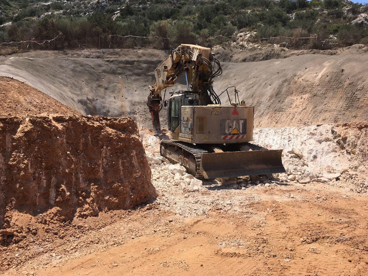 Αποχέτευση ακαθάρτων Κορωπίου Παιανίας σήραγγα υποθαλάσσιος αγωγός