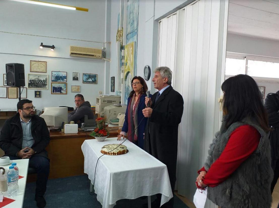 Η κοπή της Πρωτοχρονιάτικης πίτας της ΕΕΒΕΚ πραγματοποιήθηκε την Κυριακή 24 Φεβρουαρίου 2019