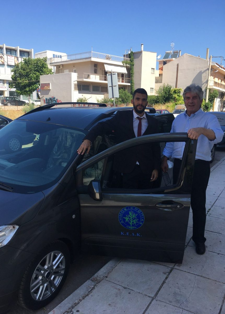 Ο Δήμος Κρωπίας και η Κοινωφελής Επιχείρηση παρέλαβαν την Τετάρτη 29 Ιουλίου 2020 το ολοκαίνουργιο σύγχρονο όχημα/βαν της ΚΕΔΚ που θα χρησιμοποιηθεί για την δομή ΚΔΑΠ-ΜΕΑ (Κέντρο Δημιουργικής Απασχόλησης Παιδιών Με Ειδικές Ανάγκες).