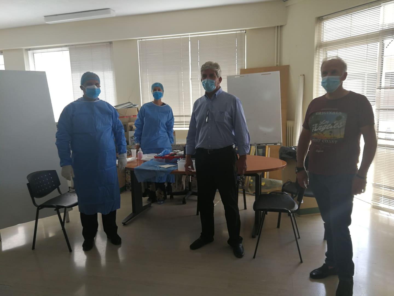 Άμεση ενέργεια του Δήμου Κρωπίας και ΝΠΔΔ Σφηττός το προσωπικό των Παιδικών Σταθμών και της Δημοτικής Βιβλιοθήκης έκαναν προληπτικό έλεγχο για τον ιό Sars-coV-2