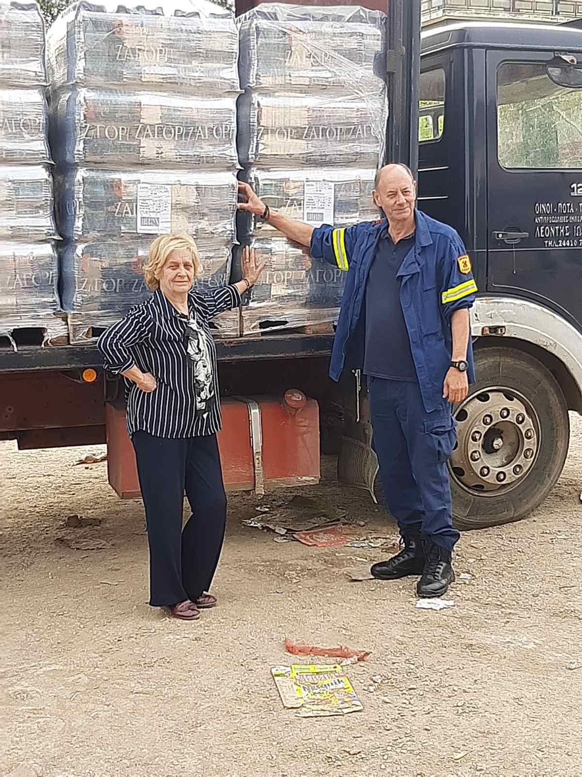 ΔΕΛΤΙΟ ΤΥΠΟΥ  Αποστολή βοήθειας προς πλημμυροπαθείς στο Δήμο Καρδίτσας.