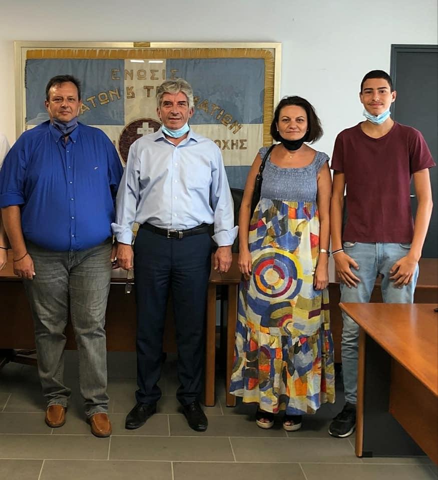 Αναπλήρωση μέλους δημοτικού συμβουλίου Κρωπίας μετά την αιφνίδια απώλεια του Δημήτρη (Τάκη) Πιέτρη από τον επιλαχόντα κ.Φώτη Τσόγκα